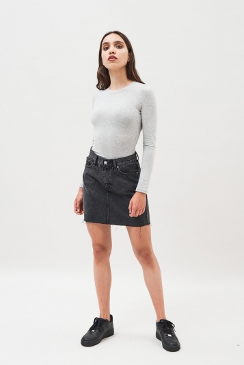 Mallory Denim Skirt