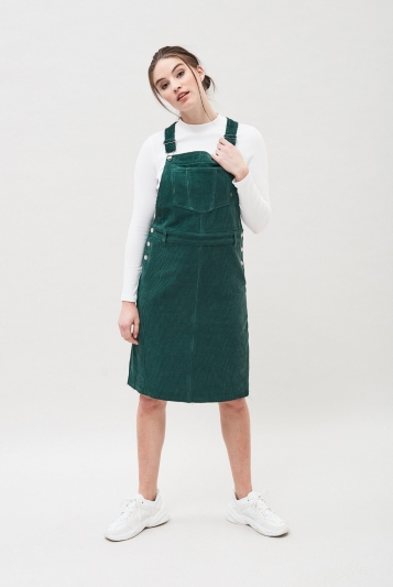 Vida Pinafore Dress