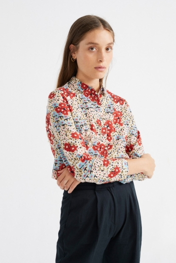 Blusa Chamomille Small Flowers