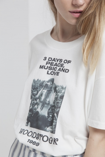 Camiseta 3 Days Of Peace Ivy T-Shirt