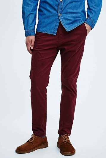 Pantalón Chino Heywood Burgundy