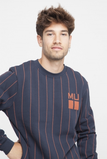 Sudadera Vertical Stripes