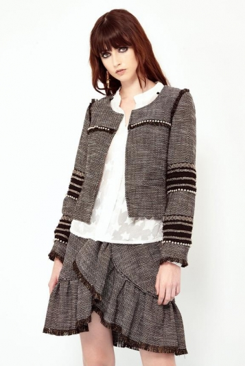 Tweed embellished Jacket